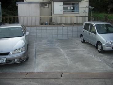 駐車場リフォーム完成後写真